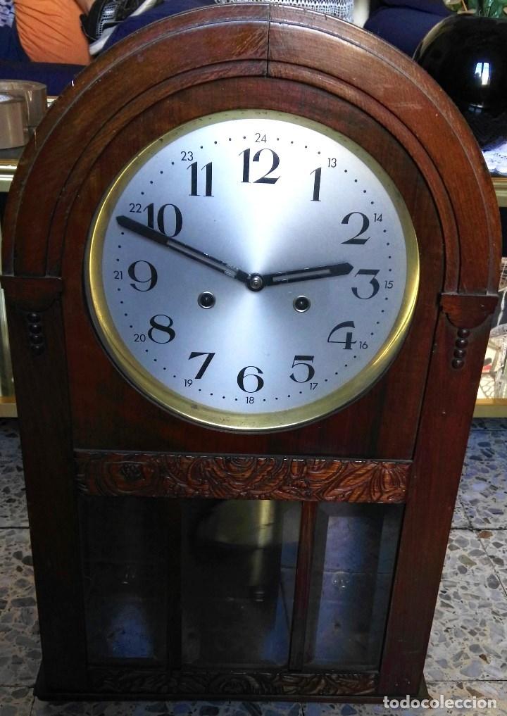 RELOJ DE PENDULO DE PARED (Relojes - Pared Carga Manual)