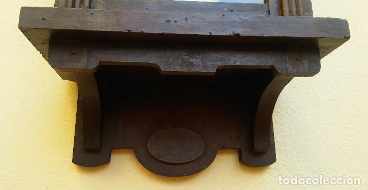 Relojes de pared: MAGNÍFICO RELOJ DE PARED ALEMAN DE CARGA MANUAL JUNGHANS, SIGLO XIX, TODO ORIGINAL. FUNCIONANDO - Foto 8 - 180909451