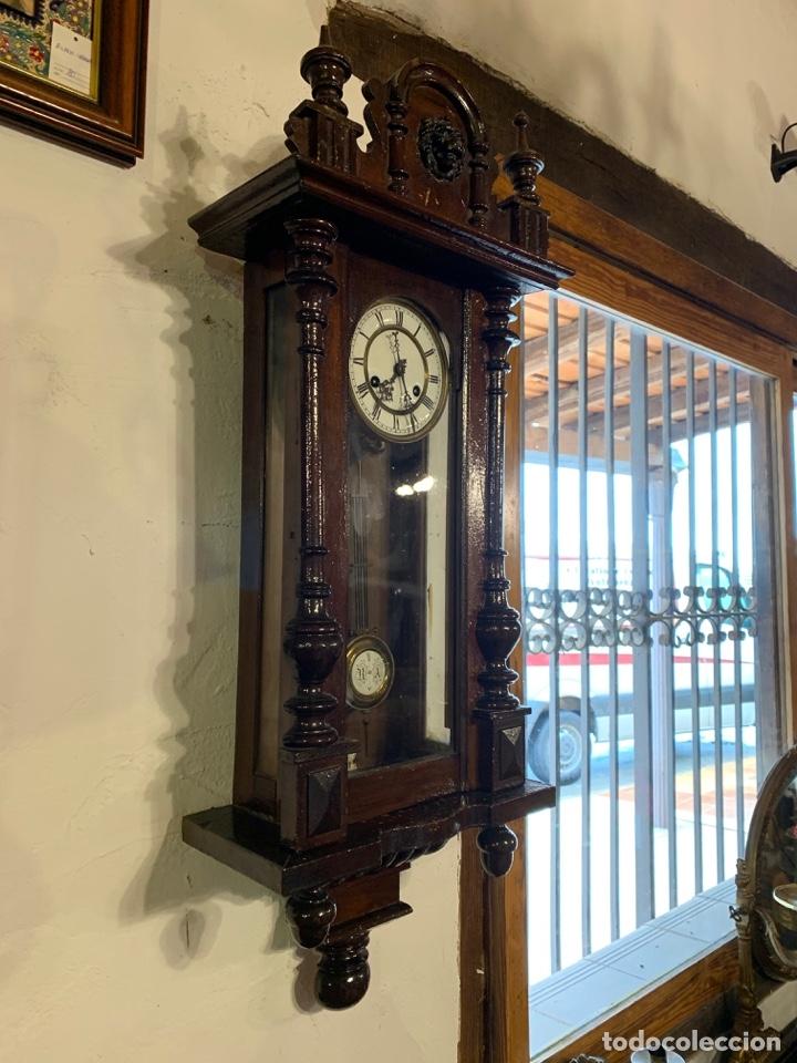Relojes de pared: ANTIGUO RELOJ DE PARED - Foto 4 - 181037102