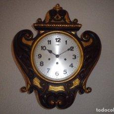Relojes de pared: CARRILLON DE PARED ANTIGUO, DE CAOBA, EXCELENTE CONSERVACIÓN, . Lote 181927531