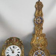 Relojes de pared: ANTIGUO RELOJ MOREZ PENDULO REAL SIGLO XIX. Lote 182269306