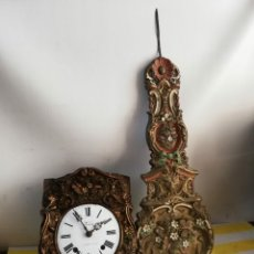 Relojes de pared: ANTIGUO RELOJ MOREZ PENDULO REAL. Lote 182269606