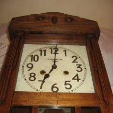 Relojes de pared: RELOJ DE PARED MAQUINARIA JUNGHANS. Lote 182282976