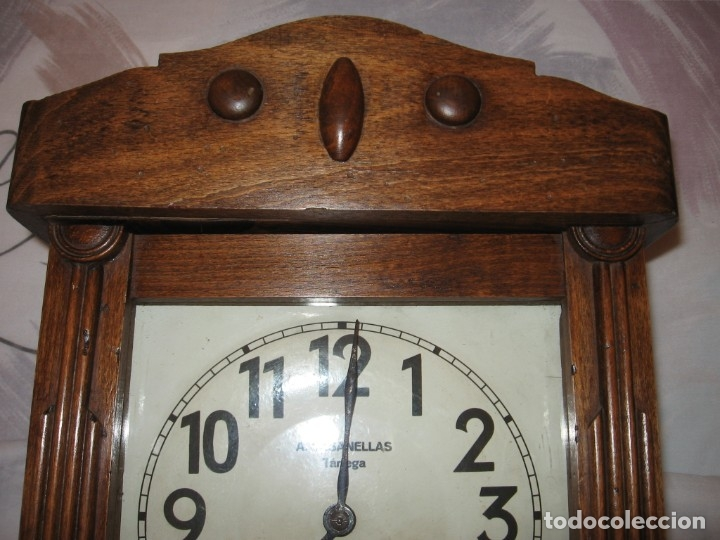 Relojes de pared: Reloj de pared maquinaria junghans - Foto 4 - 182282976