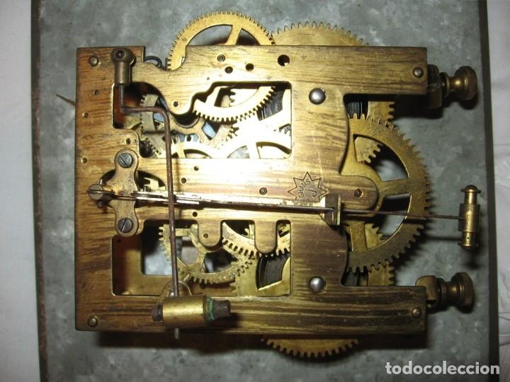 Relojes de pared: Reloj de pared maquinaria junghans - Foto 11 - 182282976