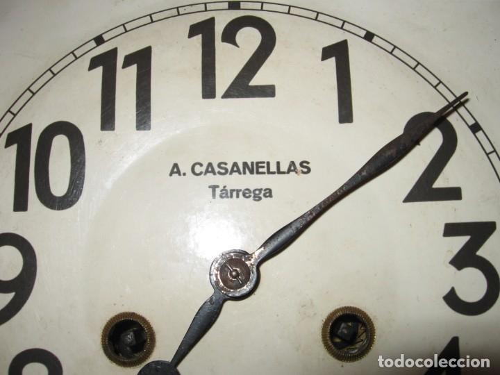 Relojes de pared: Reloj de pared maquinaria junghans - Foto 12 - 182282976