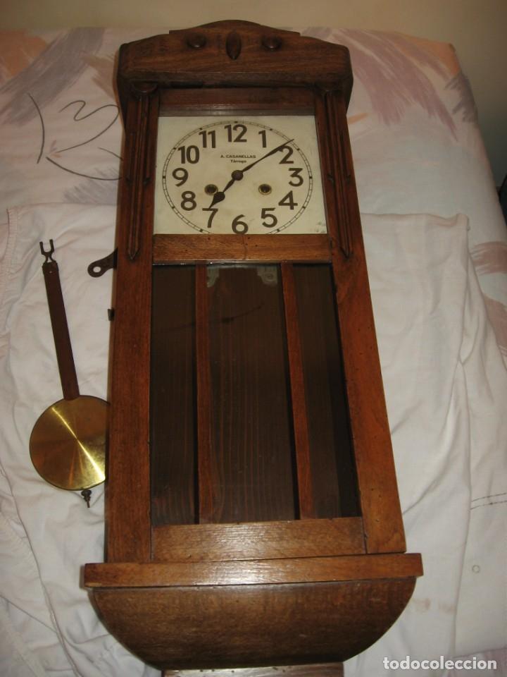 Relojes de pared: Reloj de pared maquinaria junghans - Foto 13 - 182282976