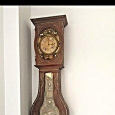 Relojes de pared: RELOJ DE MOVIMIENTO SIGLO XVIII FUNCIONANDO. Lote 182492925