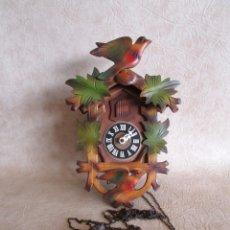 Relojes de pared: RELOJ CUCO REGULA MADE IN GERMANY FUNCIONA!. Lote 182541833