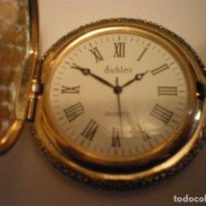 Relojes de pared: RELOJ DE BOLSILLO MARCA SUHLER NUEVO. Lote 182809938