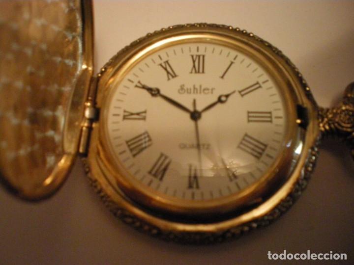 Relojes de pared: RELOJ DE BOLSILLO MARCA SUHLER NUEVO - Foto 6 - 182809938