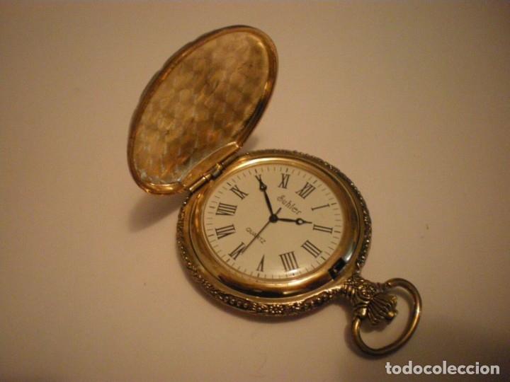 Relojes de pared: RELOJ DE BOLSILLO MARCA SUHLER NUEVO - Foto 7 - 182809938
