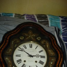 Relojes de pared: BONITO RELOJ OJO DE BUEY MAQUINA MÙORETZ ESTA BIEN CONSERVADO. Lote 182821347