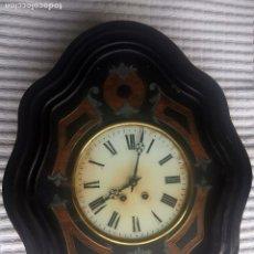 Relojes de pared: RELOJ OJO DE BUEY, FINAL SIGLO XIX. FUNCIONANDO. Lote 182974398