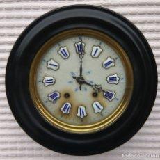 Relojes de pared: OJO DE BUEY MAQUINARIA MOREZ, ESFERA ALABASTRO. Lote 182975447