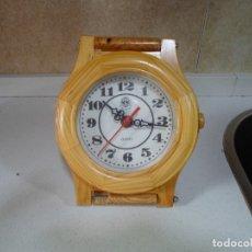 Relojes de pared: RELOJ DE MADERA. Lote 183182588
