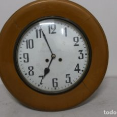 Relojes de pared: RELOJ MARCA LOS DOS ORILLOS, FUNCIONANDO.. Lote 183338978
