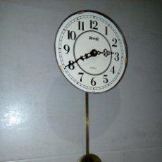 Relojes de pared: RELOJ DE PARED HERSA CON MECANISMO HERMLE Y SONERIA WESTMINSTER. Lote 183502535
