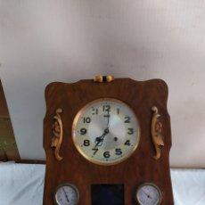 Relojes de pared: ANTIGUO Y RARO RELOJ FRANCÉS CON SONERIA IMPECABLE. Lote 183574946