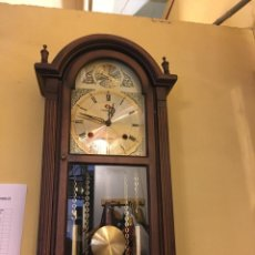 Relojes de pared: RELOJ PARED DE CUERDA . Lote 184132806