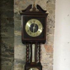 Orologi da parete: RELOJ. CUERDA. TERMÓMETRO BARÓMETRO MANOMETRO. Lote 184344605