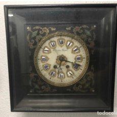 Relojes de pared: RELOJ PARED ANTIGÜEDADES OJO BUEY. Lote 184525725