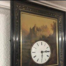 Relojes de pared: RELOJ PAISAJISTA ANTIGÜEDADES. Lote 184628477