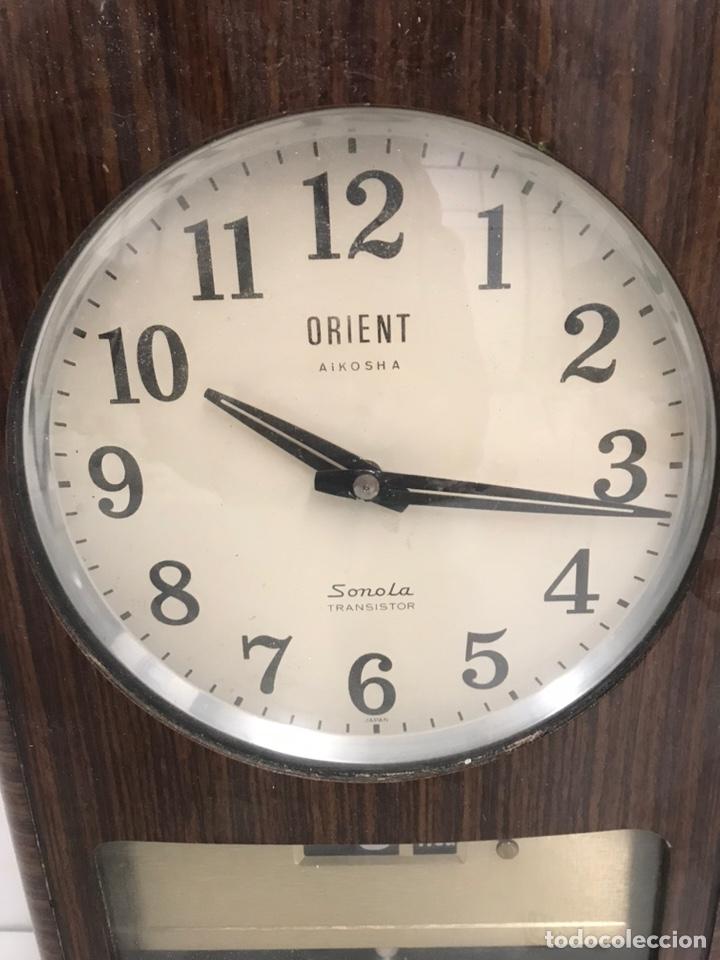 Relojes de pared: RELOJ DE PARED ORIENT SONOLA TRANSISTOR - Foto 2 - 184783308