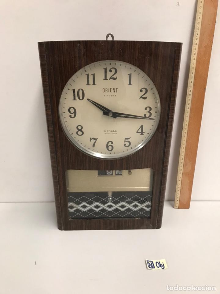 RELOJ DE PARED ORIENT SONOLA TRANSISTOR (Relojes - Pared Carga Manual)