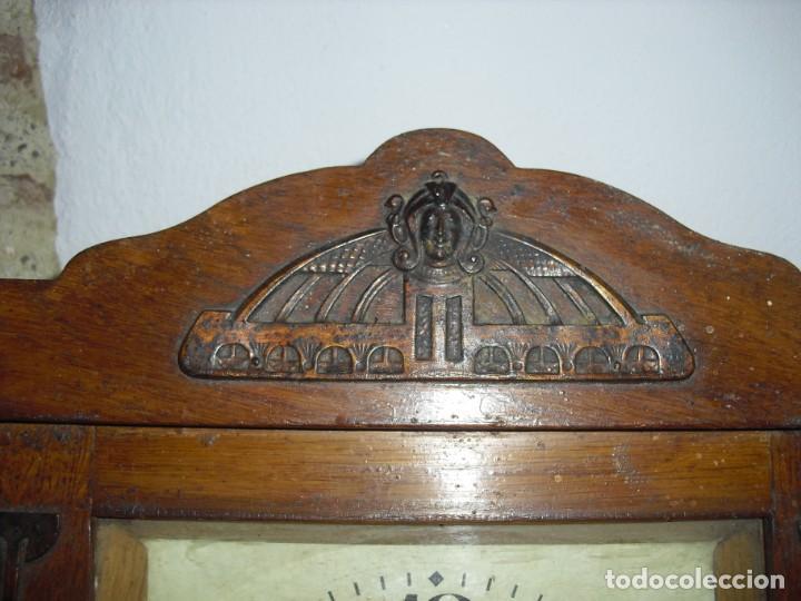 Relojes de pared: ANTIGUO RELOJ DE PARED FUNCIONANDO - Foto 2 - 184872937