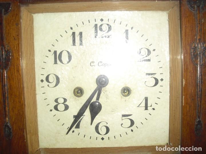 Relojes de pared: ANTIGUO RELOJ DE PARED FUNCIONANDO - Foto 3 - 184872937