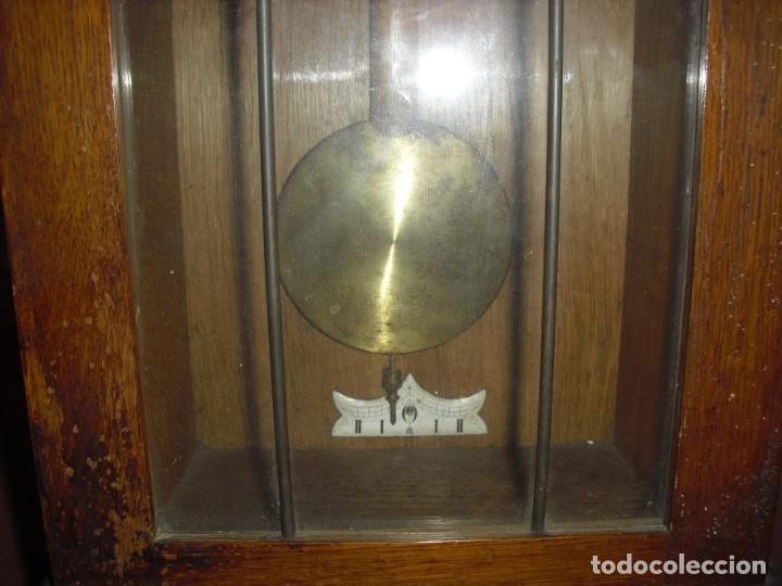 Relojes de pared: ANTIGUO RELOJ DE PARED FUNCIONANDO - Foto 4 - 184872937