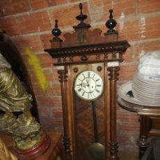 Relojes de pared: IMPRESIONANTE RELOJ DE PESAS VIENA GUSTAV BECKER CIRCA 1820. Lote 184908996