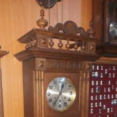Relojes de pared: RELOJ FRANCÉS DE PARED SIGLO XIX. Lote 185773223
