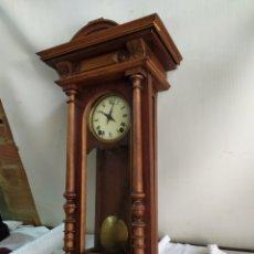Relojes de pared: IMPRESIONANTE RELOJ ALFONSINO MAQUINARIA MOREZ SIGLO XIX. Lote 185910190