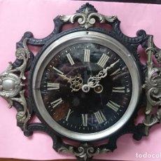 Relojes de pared: ESPECTACULAR Y FUNCIONANDO A LA PERFECCIÓN RELOJ FRANCÉS ÉPOCA IMPERIO NAPOLEON III PARÍS . Lote 185969758