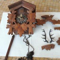 Relojes de pared: RELOJ CUCO HUBERT HERR. TRIBERG. ALEMANIA - MADERA DE LA SELVA NEGRA - MEDIADOS DEL SIGLO XX. Lote 186350768