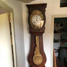 Relojes de pared: RELOJ MOREZ CON CAJA FUNCIONANDO PERFECTAMENTE. Lote 186399970