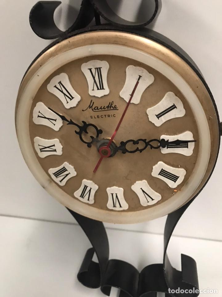 Relojes de pared: ANTIGUO RELOJ MAUTHE ELÉCTRIC - Foto 2 - 186418362