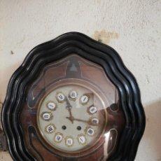 Relojes de pared: RELOJ OJO DE BUEY ISABELINO. Lote 187152221