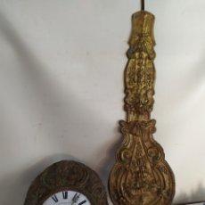 Relojes de pared: ANTIGUO RELOJ MOREZ CON SEGUNDERO PENDULO REAL SIGLO XIX. Lote 187317977