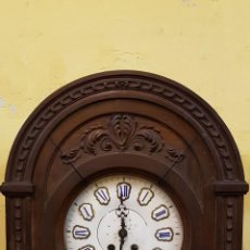 Relojes de pared: RELOJ ALFONSINO ROBLE SXIX FUNCIONANDO. Lote 188468368
