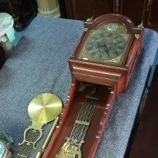 Relojes de pared: RELOJ DE PARED ESTILO INGLÉS TEMPUS FUGIT. Lote 189252101