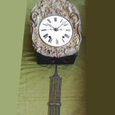 Relojes de pared: RELOJ DE PARED MOREZ FIRMADO GUINÉ. Lote 189252706