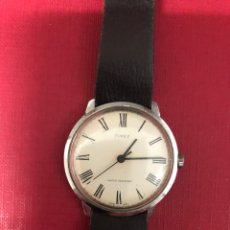 Relojes de pared: BONITO RELOJ DE CARGA MANUAL TIMEX. WATER RESISTANT.. Lote 189346445