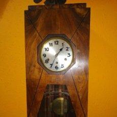 Relojes de pared: RELOJ CARRILLON ART NUVEU. Lote 189507102
