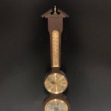 Relojes de pared: ANTIGUO RELOJ BARÓMETRO. Lote 189593827