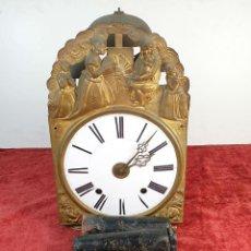 Relojes de pared: RELOJ MOREZ DE PARED. SONERÍA COMPLEJA. 4 CAMPANAS. SIGLO XIX. . Lote 189747973
