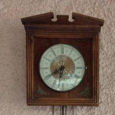 Relojes de pared: RELOJ DE PARED - PENDULO Y PESAS - MARCA RADIANT- VER FOTOS. . Lote 189973677