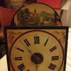 Relojes de pared: ANTIGUO RELOJ DE PARED, MARCA DE FÁBRICA S XIX. Lote 190042977